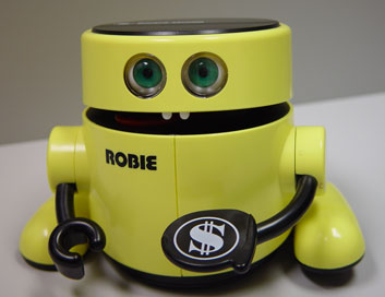 Robie the Robot bank
